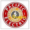 Pacific Electric Railroad T-shirts - Decals - Clocks - Magnets