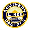 Southern Pacific Railroad Clock - T-shirts - Magnets  - Mugs - Lighters